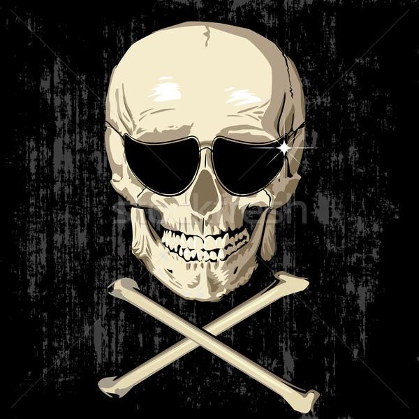 scarry humas skull Stock photo © lirch