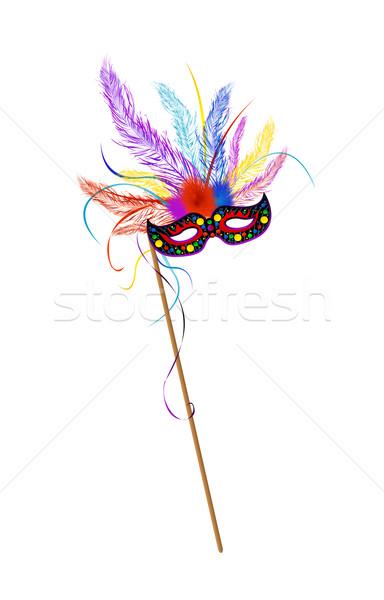 Mardi Grass mask Stock photo © lirch