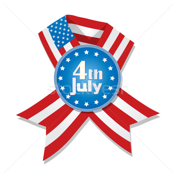 4th of July badge Stock photo © lirch