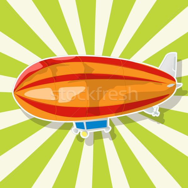 The fantastic Zeppelin Stock photo © lirch