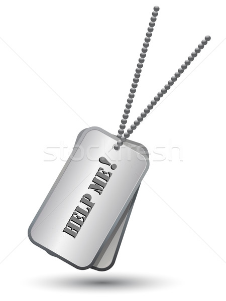 Personalized army tags Stock photo © lirch