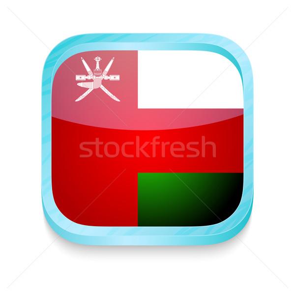 кнопки Оман флаг телефон кадр Сток-фото © lirch