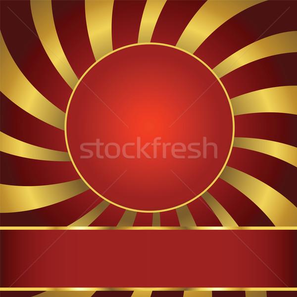 Résumé étiquette monde fond espace disco Photo stock © lirch