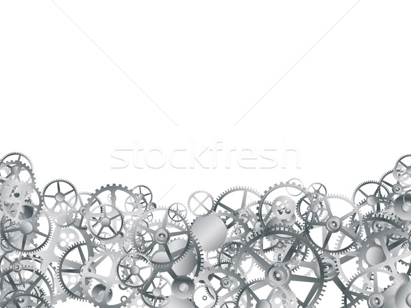 Plata artes blanco diseno metal Foto stock © lirch
