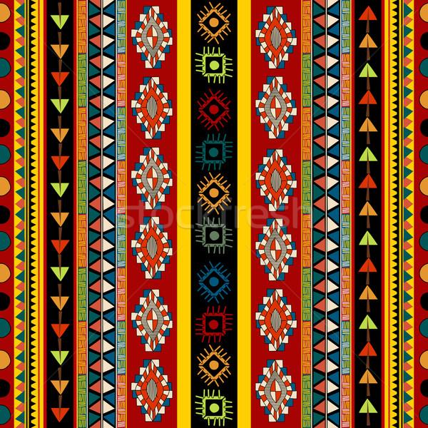ストリップ モチーフ デザイン 色 ファッション ストックフォト © lirch