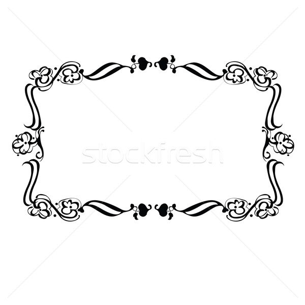 Decorative frame Stock photo © lirch