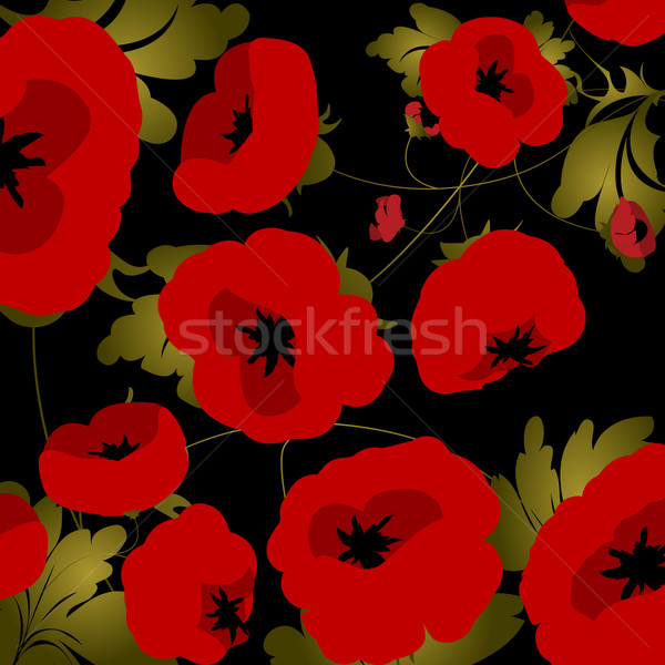 Poppies Stock photo © lirch