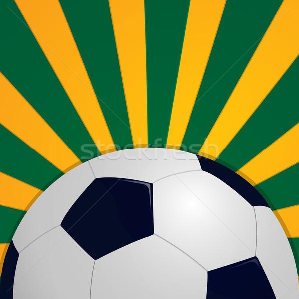 Football icon Stock photo © lirch