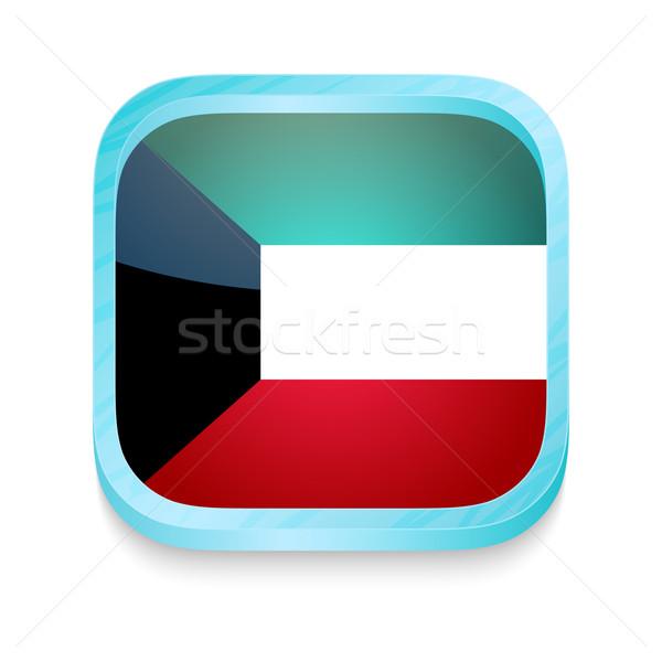 кнопки Кувейт флаг телефон кадр Сток-фото © lirch