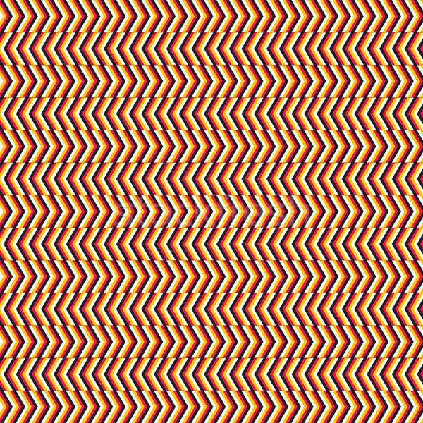 Grafische kunst abstract Rood patroon Stockfoto © lirch