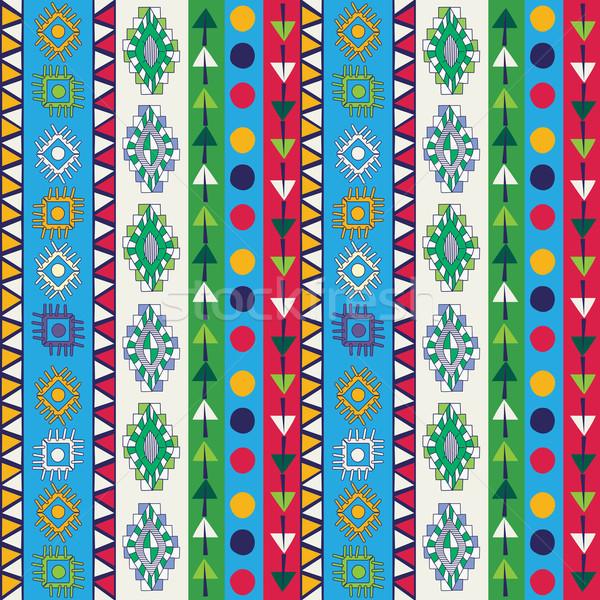 Tribal ethnic seamless Stock photo © lirch