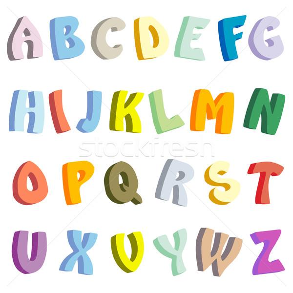 Stock photo: 3D Letter