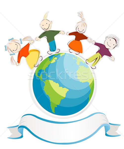 Children of the world Stock photo © lirch