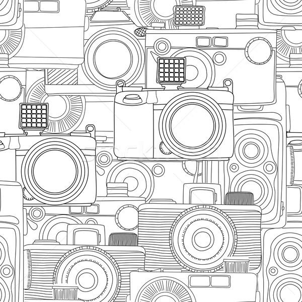 Seamless photography pattern Stock photo © lirch