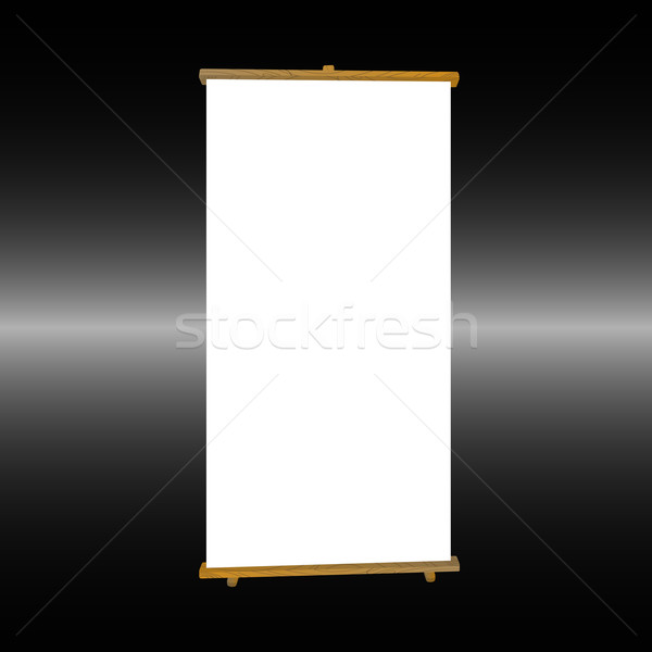 Roll up banner Stock photo © lirch