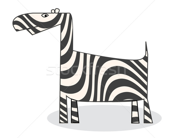 Clip art zebra Stock photo © lirch