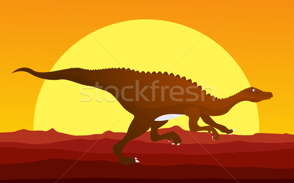 Dinosaur background 3 Stock photo © lirch
