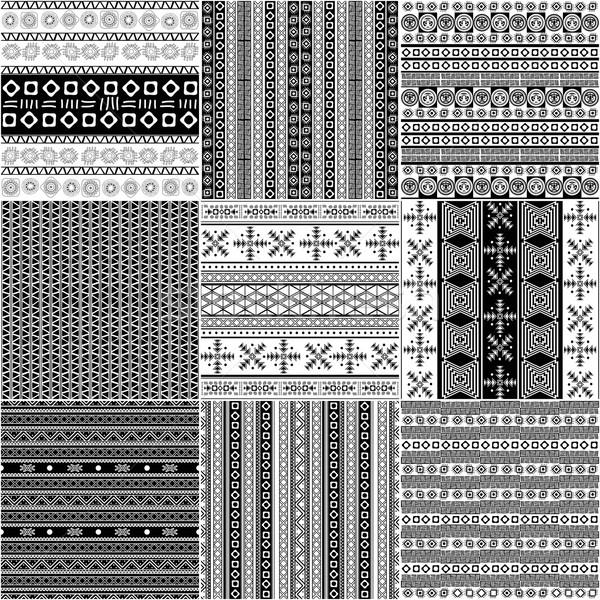 Tribal motif monochrome set Stock photo © lirch