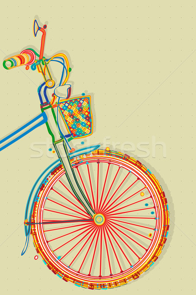 Bicycle card Stock photo © lirch