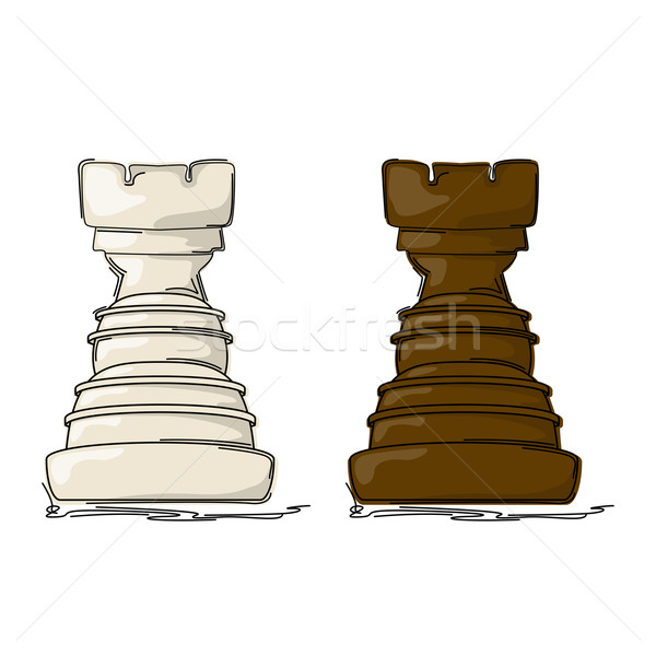Chess rook Stock photo © lirch