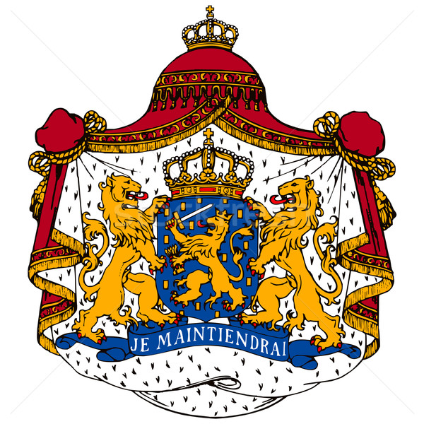 Netherlands coat of arms Stock photo © lirch