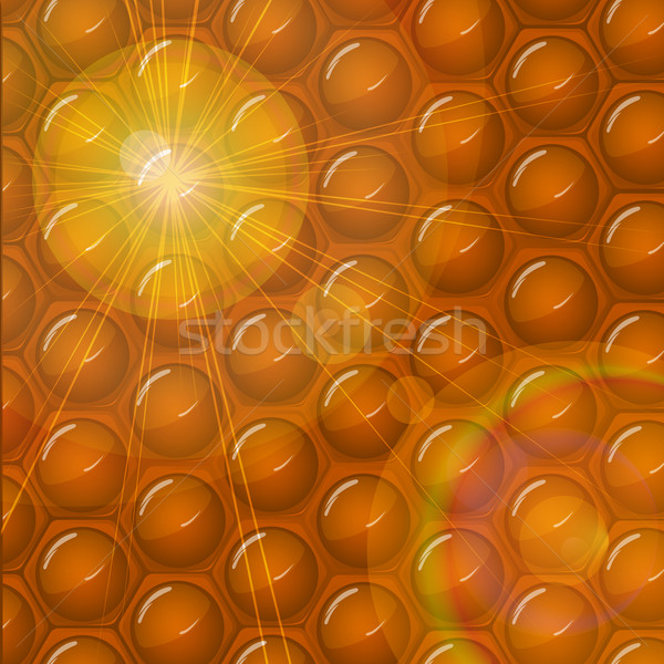 Honeycomb abstract background Stock photo © lirch