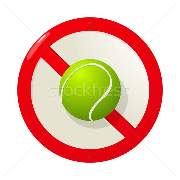 No more tennis Stock photo © lirch