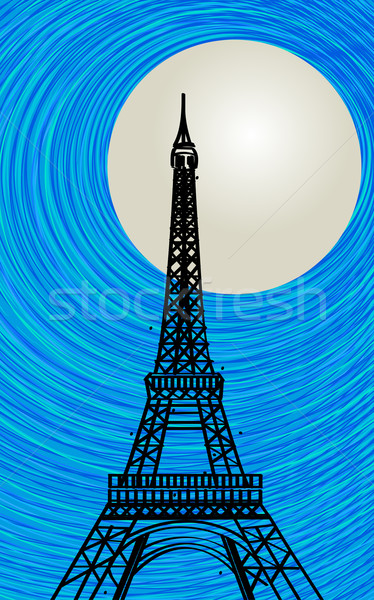 Paris card Stock photo © lirch