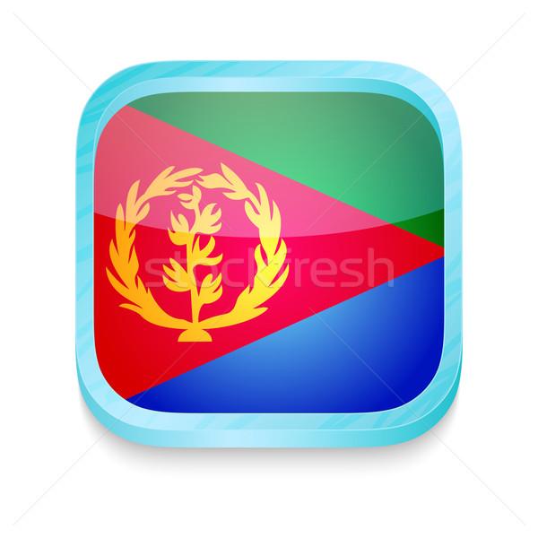 кнопки Эритрея флаг телефон кадр Сток-фото © lirch