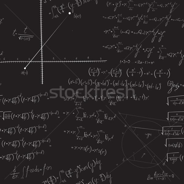 Mathematical seamless pattern Stock photo © lirch