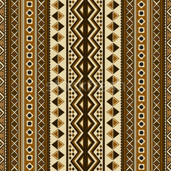 Seamless ethnic pattern Stock photo © lirch