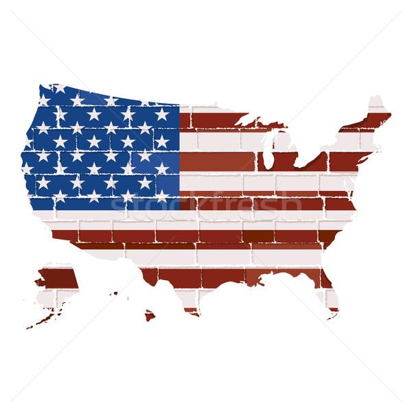 USA map Stock photo © lirch
