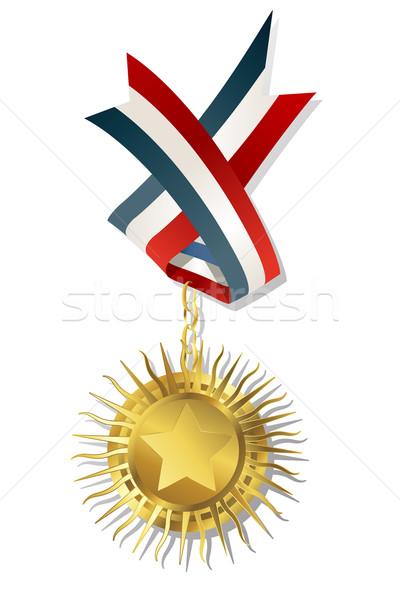 Golden star award Stock photo © lirch
