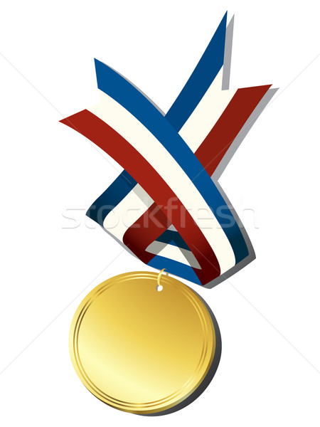 Realistic gold medal Stock photo © lirch