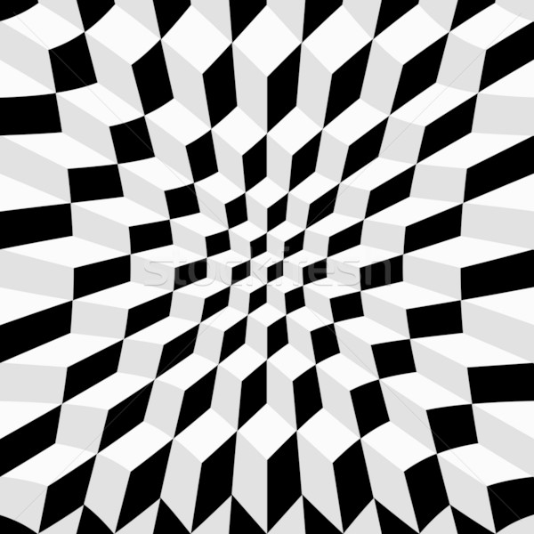 Abstract op art Stock photo © lirch