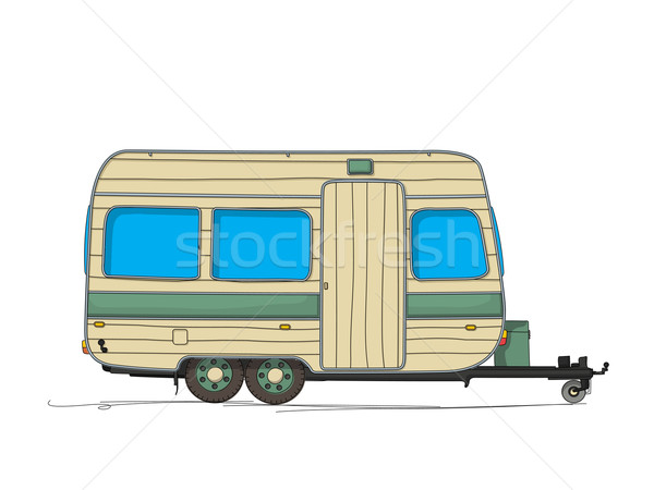 Caravan Stock photo © lirch