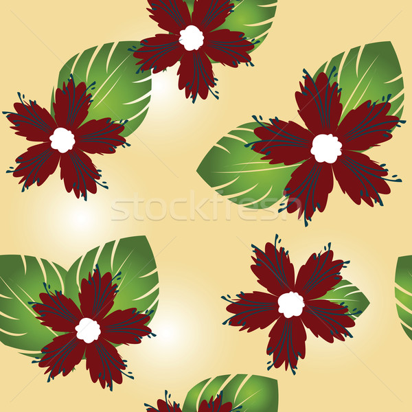 Floral pattern Stock photo © lirch