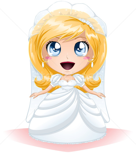 Bride Dressed For Her Wedding Day Stock photo © LironPeer