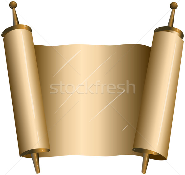 Traditional Jewish Torah Scroll Stock photo © LironPeer