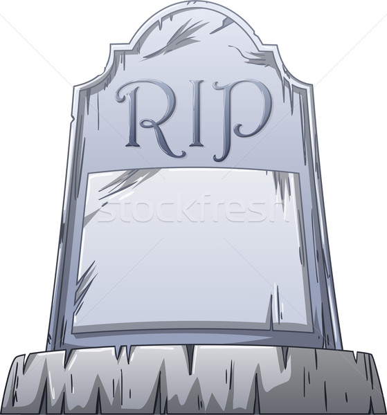 RIP Grave Stock photo © LironPeer