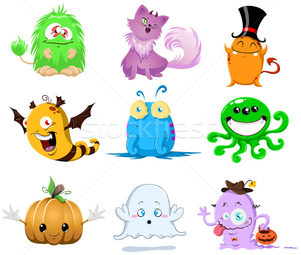 Halloween Monsters Pack Stock photo © LironPeer