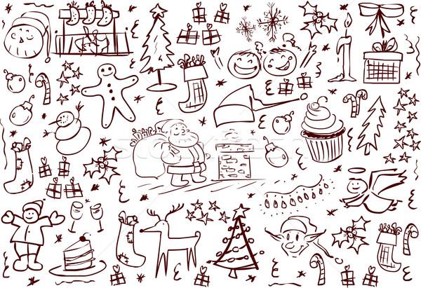 Рождества Pack вектора Сток-фото © LironPeer