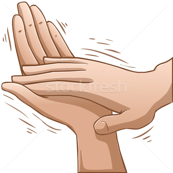 Clapping Hands Stock photo © LironPeer