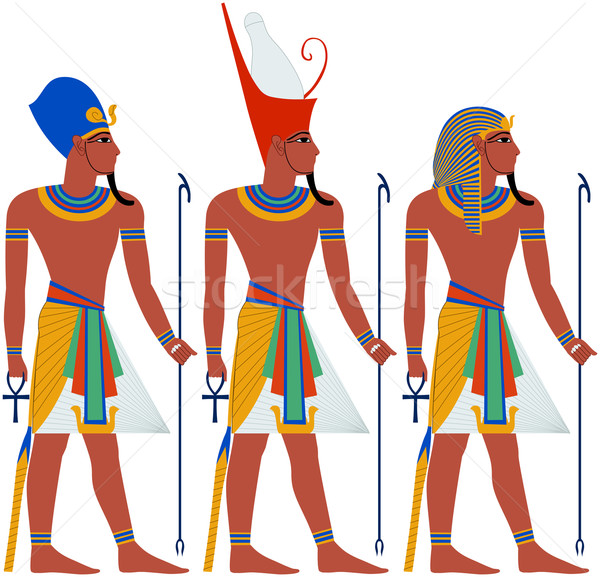 Ancient Egypt Pharaoh Pack For Passover Stock photo © LironPeer