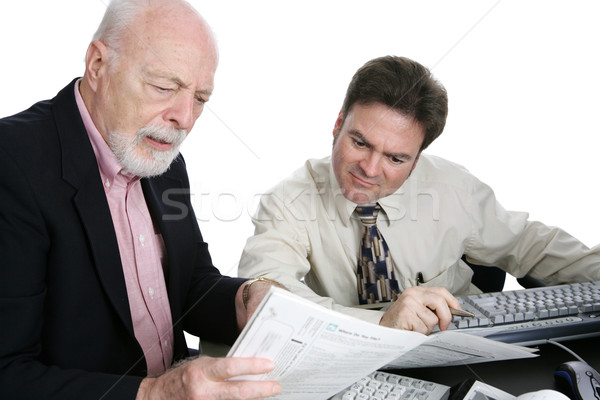 Accounting Series- Confusing Tax Forms Stock photo © lisafx
