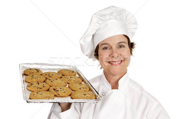 シェフ トール 家 クッキー かなり ストックフォト © lisafx