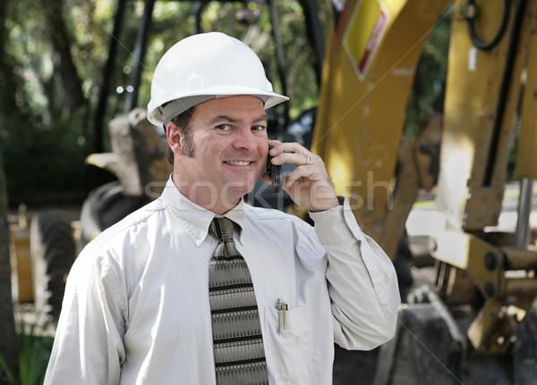 Stock photo: Engineer On Site