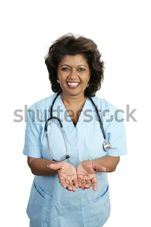 Medical Professional - In Good Hands Stock photo © lisafx