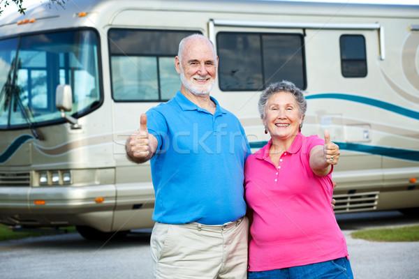 RV Seniors - Happy Retirement Stock photo © lisafx