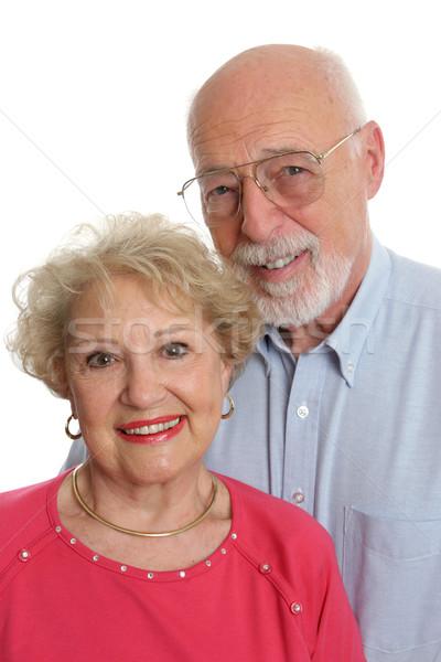 Senior Couple Together Vertical Stock photo © lisafx